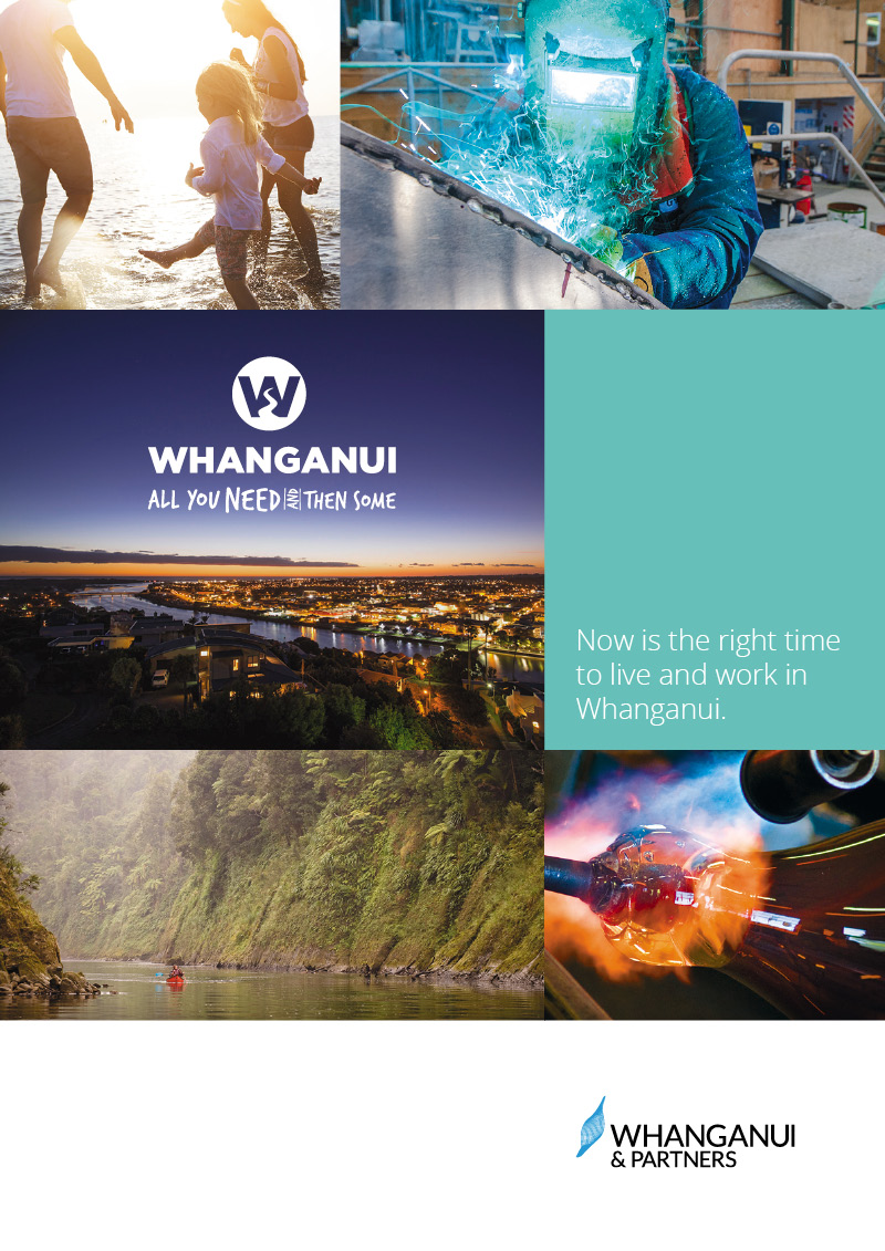 Move to Whanganui Booklet Design